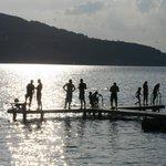 chalet de la Brune by the lake