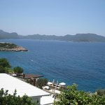 View south from Gardenia Boutique Hotel, Kas Turkey