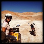 four-wheeling through Cordillera de la Sal