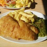 bland fish and chips