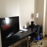 TV and desk available