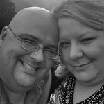 James and Leigh on our honeymoon 2014