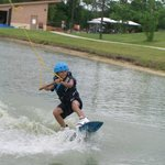 9-yr-old on beginner pond