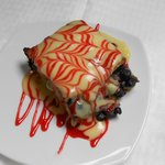 Homemade Desserts (Blueberry Bread Pudding)