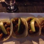 4 shrimp tacos = $16. So yummy!