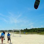 PDC Kiteboarding's location is beautiful, & the wind is consistent & perfect for learning.