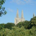 Catedral de Burgos vom Rio Arlanzon aus