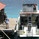 Dive boat and dive lockers