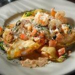 Lobster,Shrimp and Scallop Ravioli