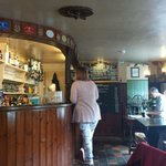 Lovely country pub. Superb beer and real cider, food simple but large portions, lovely location.