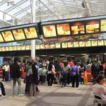 McDonald's restaurant, National Air & Space Museum, Washington, DC, April 2014