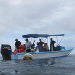 Costa Rica Dive & Surf dive boat