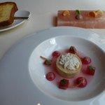Foie Grass with Rhubarb