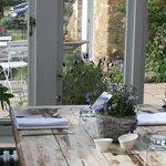Conservatory restaurant seating