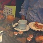 Traditional Petit Dejeuner at Hotel du Danube St Germain