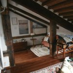 the attic master suite