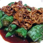 Chillies with meat