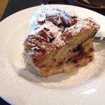 Chocolate Croissant Bread Pudding!