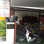 Lobby - motorcycle/bike for rent