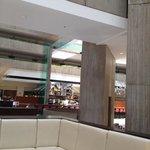 Atrium and coffee shop