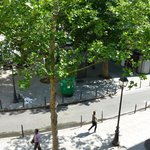 Hotel Edgar, Paris - outlook from room 8 - June 2014