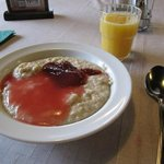 A porridge that is had in Finland - very tasty!