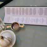Tea Menu @ the Goring