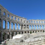 The magnificent Pula amphitheatre