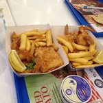 london fish and chips at city centre
