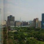 デラックスツイン11階からの眺望