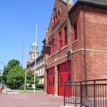 Old Fire Station and Entrance to Museum