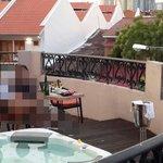 Outdoor Jacuzzi Melaka Suite Room 1888
