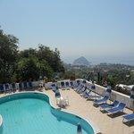 terrazza panoramica dell'hotel