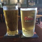 Thatchers Gold and Coors Light :)