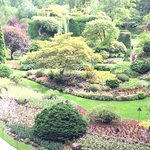 The Sunken Gardens built in a quarry pit