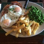 Gammon, Eggs & Chips