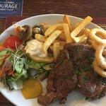 Rib eye Steak - delish!