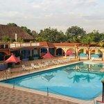 pool at hotel africana, kampala