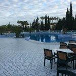 Nice clean pool area