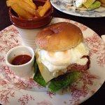 Lovely gourmet burger