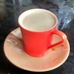 Hot stimulating coffee