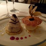 Iced Nougat Dessert