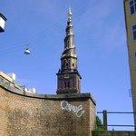 Iglesia de Nuestro Salvador, Copenhague, Dinamarca.