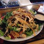 Southwestern chicken salad.  Yummy!