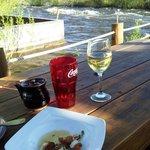 My riverside dining