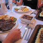 A Massive T Bone Steak