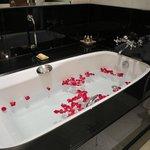 Surprise : bathroom arrangement