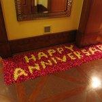 Surprise : flower carpet