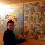 Mapa de visitantes y dinero del mundo