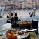melon with proscuitto ham and mozzarella